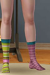 Sims 3 socks, glasses, accessories