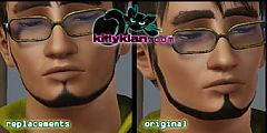 Sims 3 grooming, hair, whiskers, genetics