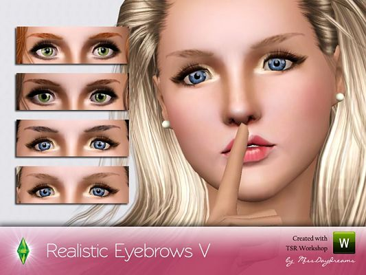 Sims 3 eyebrows, genetics, brows, female