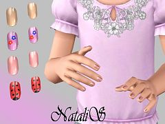 Sims 3 nails, accessories, fashion