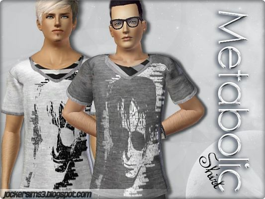 Sims 3 shirt, clothing, male
