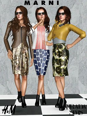 Sims 3 outfit, fashion, clothing, female, dress, designer