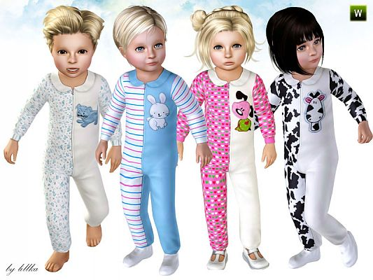 Sims 3 romper, fashion, clothing, toddler