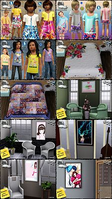 Sims 3 cloth, clothes, fashion, outfit, objects, decor