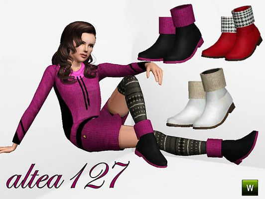 Sims 3 shoes, boots