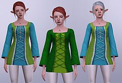 Sims 3 top, tunic, clothing, everyday