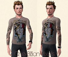 Sims 3 boondock, saints, tattoos