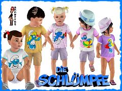 Sims 3 top, tee, t-shirt, kids