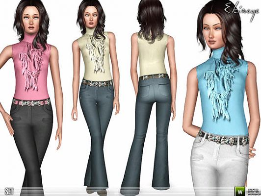 Sims 3 clothes, fashion, clothing, top, bottom