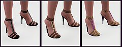 Sims 3 high heels, shoes, elegant