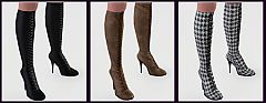 Sims 3 boots, shoes, fashion