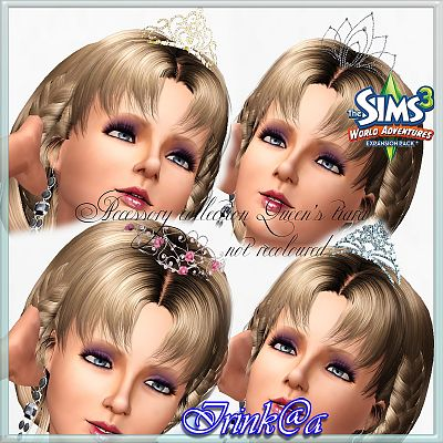 Sims 3 jewelry, accessories, tiara, female