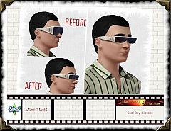 Sims 3 glasses, accessories