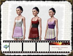 Sims 3 dress, fashion, cloth, clothes