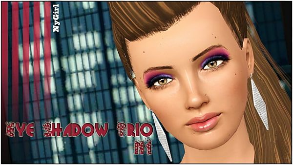 Sims 3 eyeshadow, makeup, female