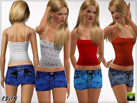 Sims 3 clothing, fashion, outfit, female