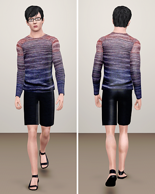 Sims 3 outfit, clothing, male, everyday