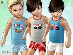 Sims 3 clothing, outfit, toddler