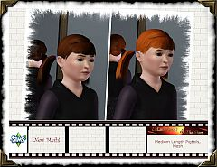 Sims 3 genetics, hair, kids