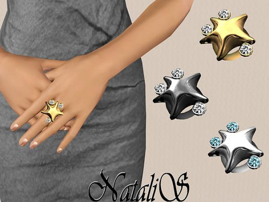Sims 3 ring,  accessories, female, male