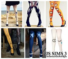 Sims 3 accessories, stockings, tights