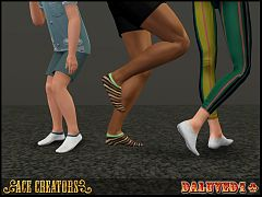 Sims 3 socks, accessories, female, male