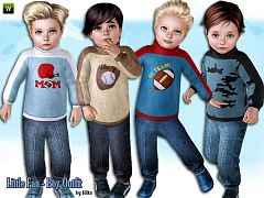 Sims 3 clothing, toddler, outfit