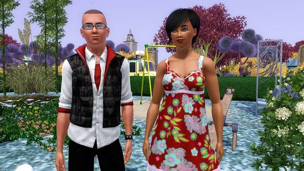 Sims 3 sims, family, models