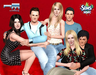 Sims 3 friends, sims, models
