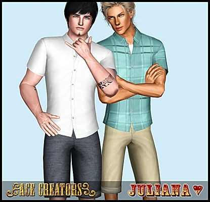 Sims 3 shirt, pants, fashion, clothing, outfit, male