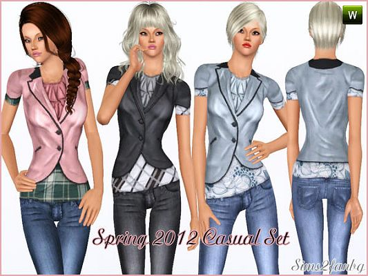 Sims 3 fashion, clothing, outfit, femal