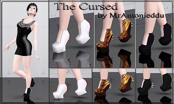 Sims 3 shoes, designer, sims3, sims 3