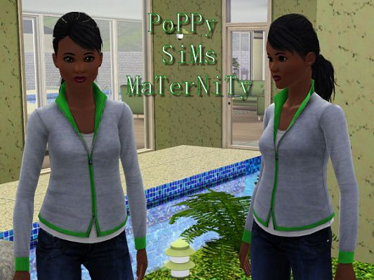 Sims 3 top, clothing, clothes, fashion, maternity