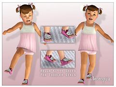 Sims 3 shoes, sandals, fashion, toddler