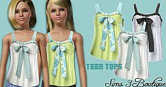Sims 3 fashion, clothing, clothes, sims, teen, top