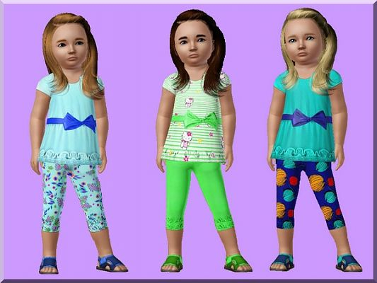 Sims 3 dress, clothing, fashion, toddler