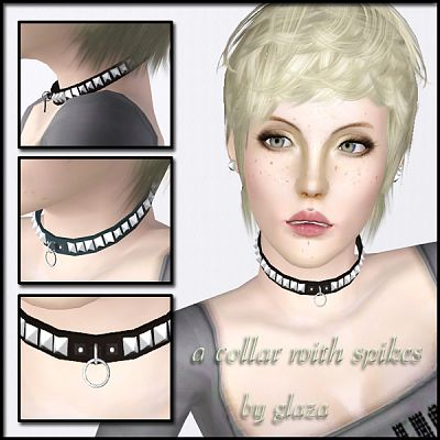 Sims 3 necklace, accessories, jewelry, female
