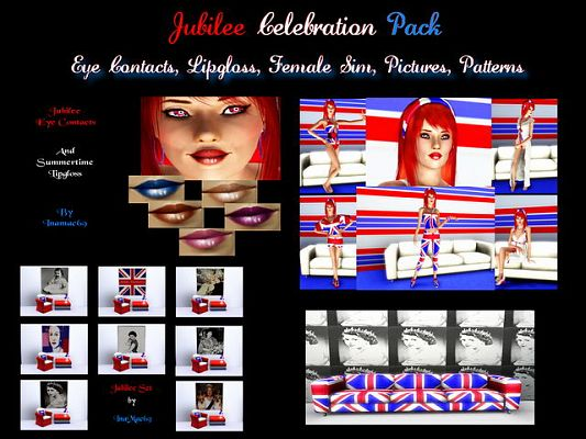 Sims 3 pack, sims, makeup, contact, pattern