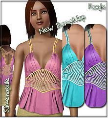 Sims 3 top, everyday, clothing, fashion