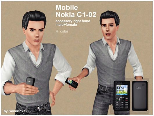 Sims 3 cell, phones, mobile, nokia