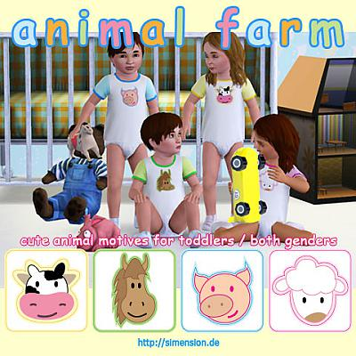 Sims 3 clothing, sleepwear, toddler