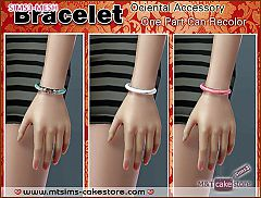 Sims 3 bracelet, necklace, jewelry, accessories