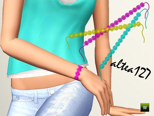 Sims 3 bracelet, accessories, jewelry, female