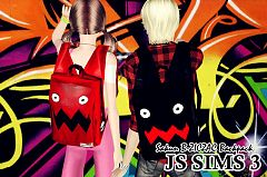 Sims 3 backpack, accessory, sims3