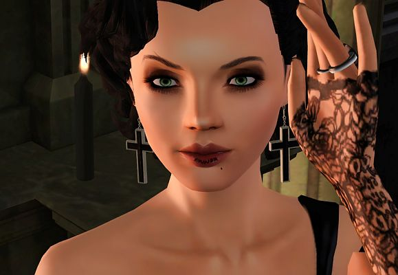 Sims 3 earrings, ring, accessories, jewelry, female