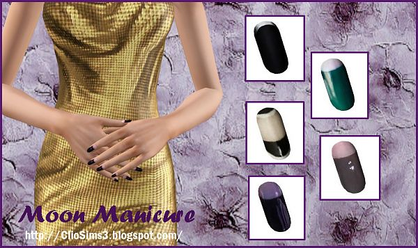 Sims 3 nails, manicure