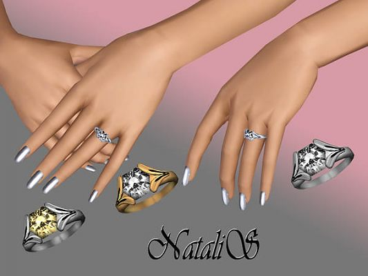 Sims 3 rings, accessory, jewelry, engangement