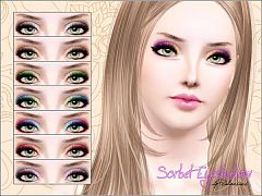 Sims 3 eye, eyeshadow, cosmetics, makeup