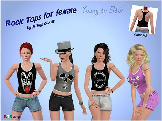Sims 3 top, clothing, outfit, female, casual