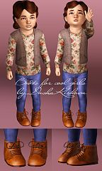 Sims 3 boots, shoes, girls